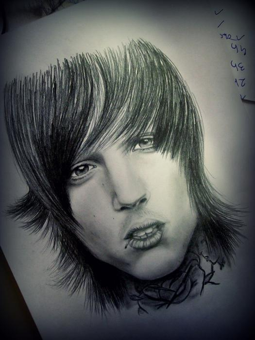 Oliver Sykes by AllieH